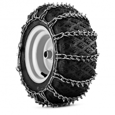 "TRO036 - Sniego grandinės su metaliniais spygliais (pora) 20x10-8"""